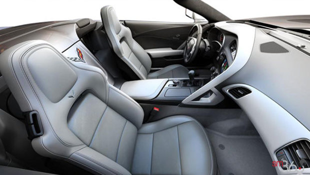 Grey GT buckets Leather seating surfaces with sueded microfiber inserts (144-AQ9)