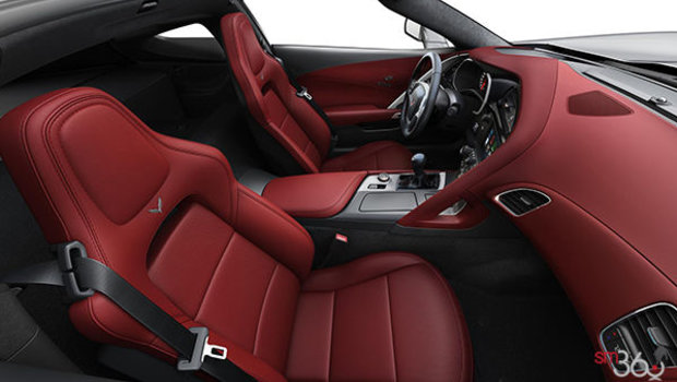 Spice Red GT buckets Perforated Napa leather seating surfaces (755-AQ9)