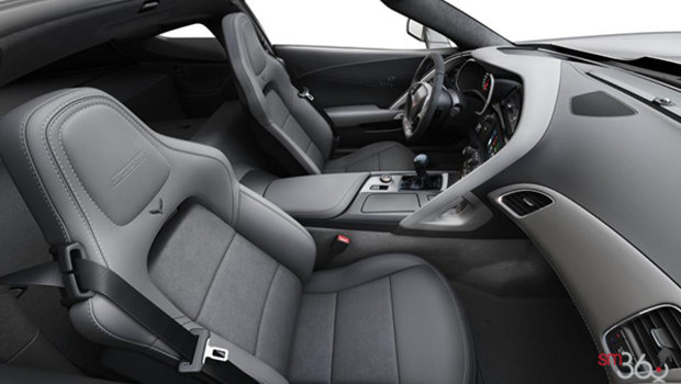 Grey GT buckets Leather seating surfaces with sueded microfiber inserts (146-AQ9)