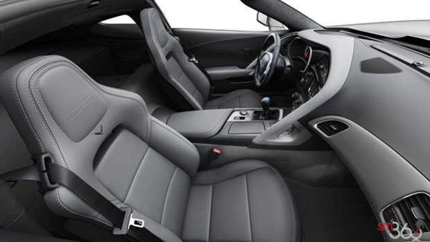 Grey GT buckets Perforated Napa leather seating surfaces (145-AQ9)