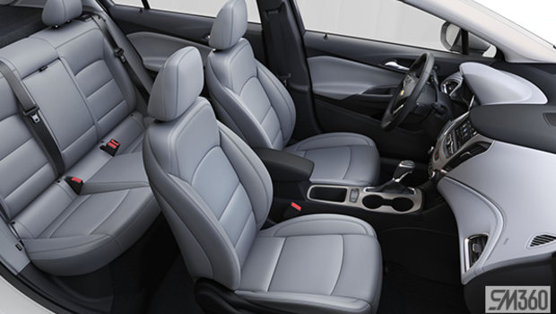 Jet Black/Galvanized, Leatherette Seat Trim (A51-HGN)
