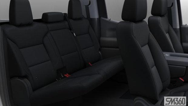 Jet Black Cloth, 40/20/40 split-bench seat (A52-H1T)