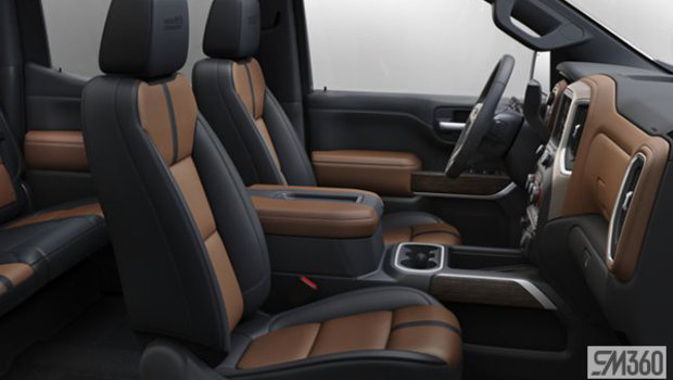 Jet Black/Umber Perforated leather-appointed, Bucket seats (A50-HVG)