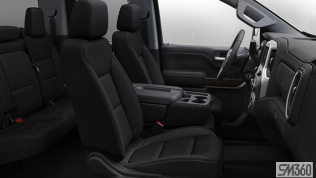 Jet Black Cloth, 40/20/40 bench seat w/ armrest/fixed lumbar (AE7-H0U)