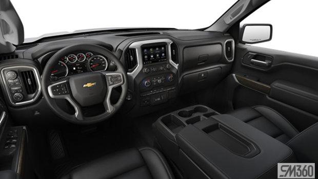 Jet Black Leather-appointed, 40/20/40 bench seat w/ armrest/adjustable lumbar/under-seat storage (AZ3-HOY)