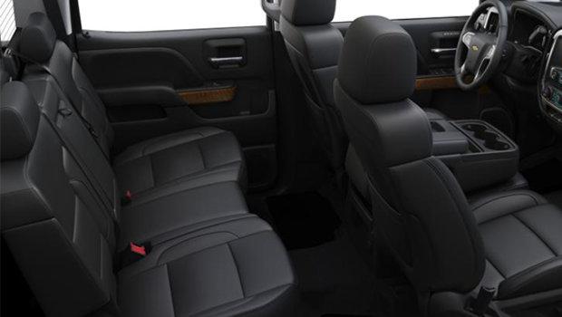 40/20/40 Split bench- Leather-appointed - Jet Black (B3F-H2U)