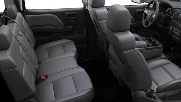 40/20/40 split-bench - Vinyl - Dark Ash seats with Jet Black interior accents (AE7-H2Q)
