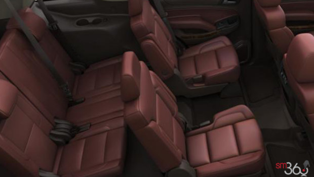 Cocoa/Mahogany Bucket Seats Perforated Leather (H4X-AN3)