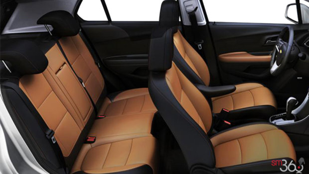 Jet Black/Brandy Bucket seats Leatherette (AEY-AR9)