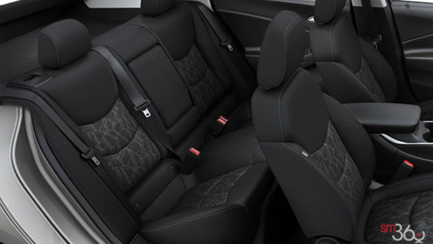 Bucket Seats - Cloth - Jet Black/Jet Black (A51-H1T)