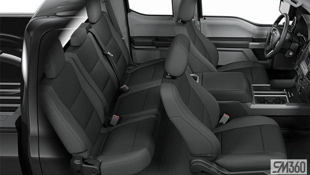 Medium Earth Grey Cloth bucket seats w/console (WG)