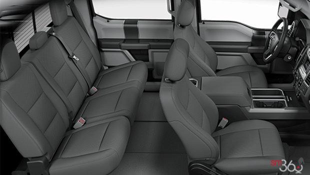 Medium Earth Grey Cloth bucket seats (UG)