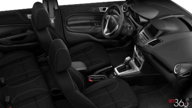 Charcoal Black cloth with Reverse Contrast Seat Stitching(GD)