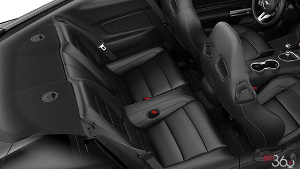 Ebony w/Metallic Grey Stitching RECARO Premier Leather (51)