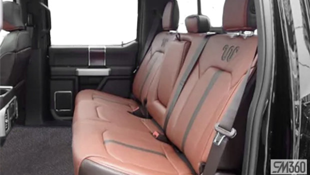 Unique King Ranch Java Kingsville Brown Leather Captain's Chairs (SP)