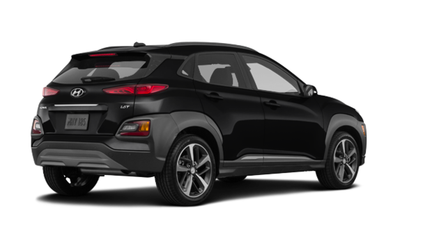 2019 Hyundai Kona ULTIMATE Black with Red Trim