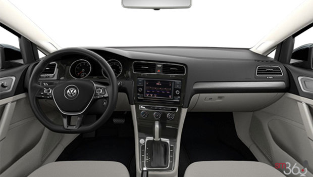 Vw Atlas Interior >> 2019 Volkswagen Golf 5-door COMFORTLINE - Starting at ...