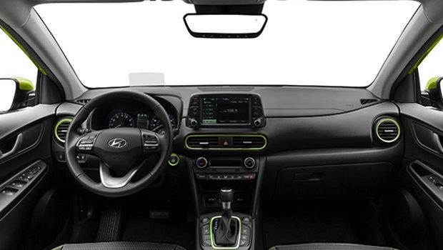 2020 Hyundai Kona ULTIMATE Black with Lime Trim