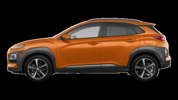2020 Hyundai Kona ULTIMATE Black with Orange Trim