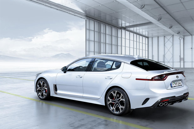 The all-new 2018 Kia Stinger in Montreal by - Spinelli Kia in Roxboro,  Quebec