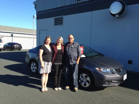 We had an excellent experience at purchasing our first Honda Civic from Jessica. She was very helpful