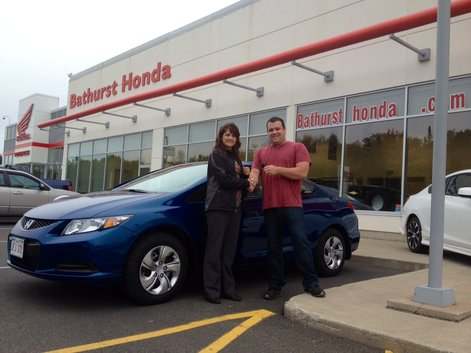 Our experience at Bathurst Honda was great! Julie & Matthew Morton