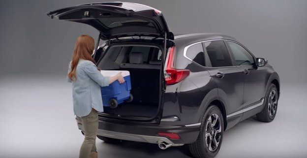 2017 Honda CR-V's Programmable Power Tailgate with Hands Free Access