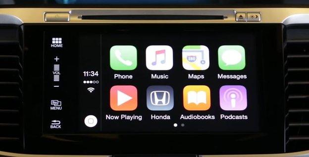 Apple CarPlay - Basic controls within your new Honda vehicle