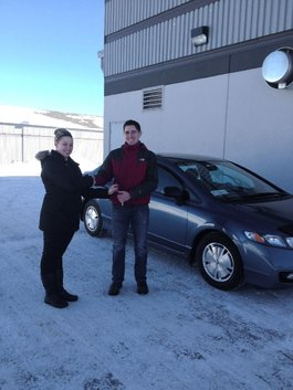 The sales team at Honda was very good in assisting me with my first car purchase.