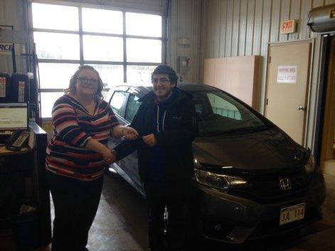 I'm happy with my new car and had good service with Tammy Aubie &  Mylaine Bertin.