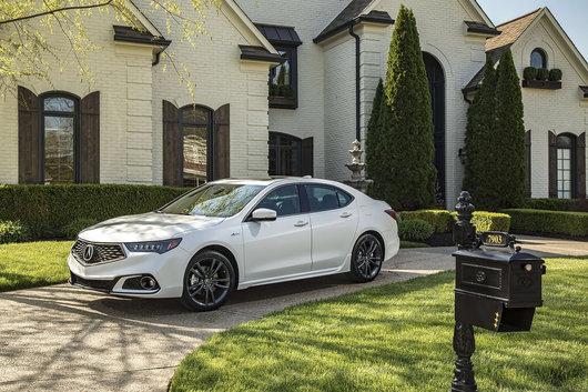 Un coup d'œil aux versions de l'Acura TLX 2019