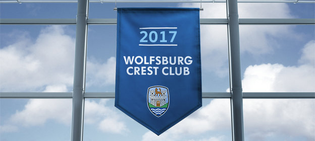 A Proud Member of the Prestigious Wolfsburg Crest Club for 2017