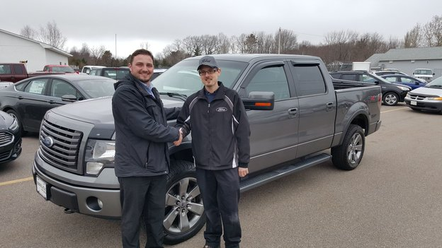 Thanks to the entire team at Bruce Ford!