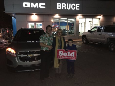 I Love My New Suv Bruce Chevrolet Buick Gmc Middleton