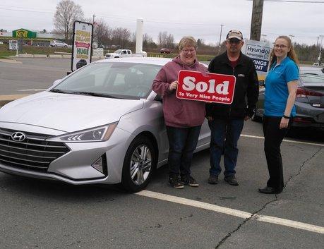 Glen & Mary Louise Johnson 2019 Hyundai Elantra
