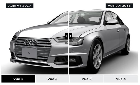 2017 Audi A4 VS 2016 Audi A4 - See the differences for yourself