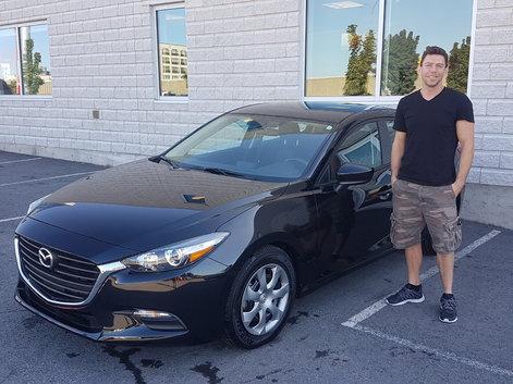 Bienvenue dans la famille Mazda!