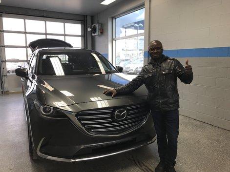 Mazda Cx9 signature !