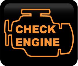 Témoin lumineux / Check engine