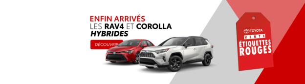 Corolla et RAV4 hybrides