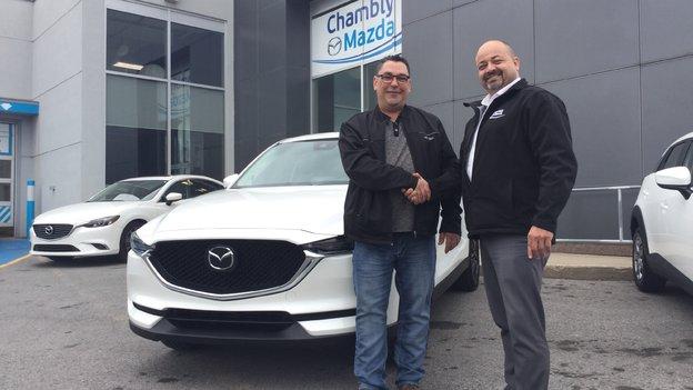 Félicitations monsieur Gimond ! CX5 2017 GT TECH