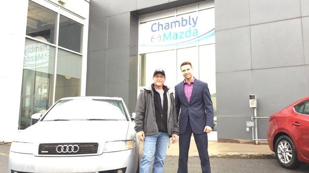 Merci à M. Archambault de faire confiance à Chambly Mazda