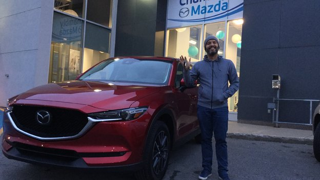Félicitations M. Lakiss Da Costa pour votre nouvelle Mazda CX5 2017