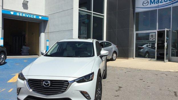 Félicitations M. Hétu pour l'achat de votre nouvelle Mazda CX3 2017