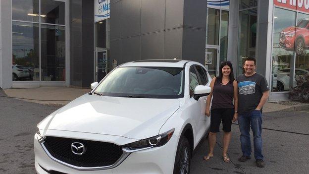 Félicitation votre nouvelle Mazda CX5 2017