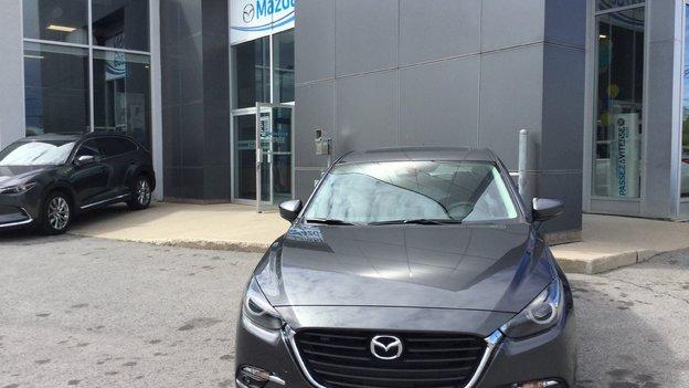 Félicitations M. Quevillon pour l'achat de votre nouvelle Mazda3 2017