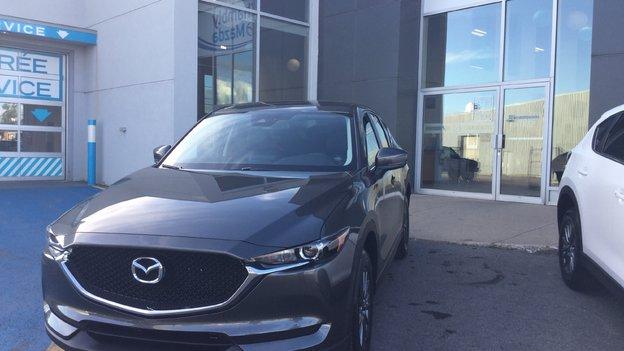 Félicitations M. Labrecque pour l'achat de votre nouvelle Mazda CX5 / 2017