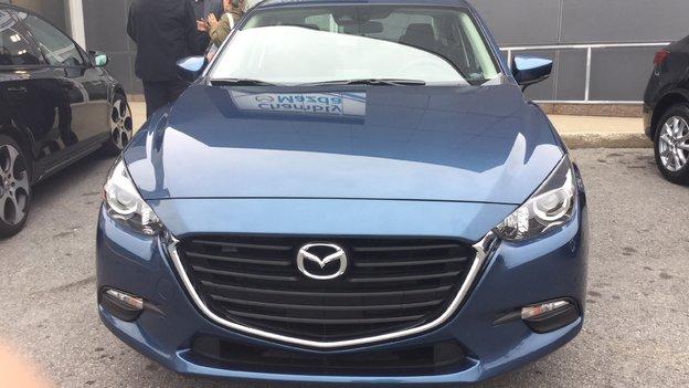 Félicitations Madame Sarah Prévost pour l'achat de votre Mazda 3 /2017
