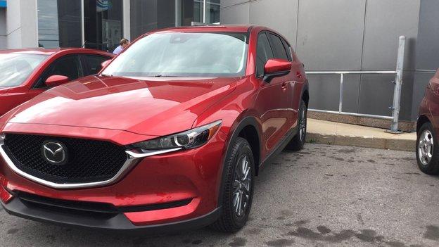Félicitations M. Lemay pour votre nouvelle Mazda CX5 GS 2017