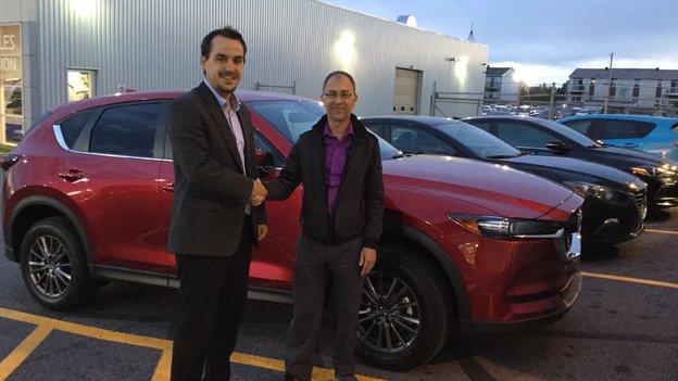 Félicitations M. Philippe Dascotte pour votre nouvelle Mazda CX5 2017